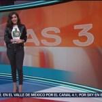 Foto: El Clima 'A las Tres' con Daniela Álvarez del 18 de febrero de 2019