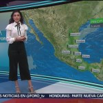Foto: El Clima A las Tres con Daniela Álvarez del 7 de febrero de 2019