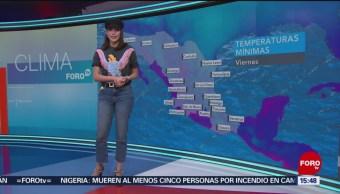Foto: El Clima 'A las Tres' con Daniela Álvarez del 8 de febrero de 2018