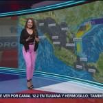 Foto: El clima con Mayte Carranco del 18 de febrero de 2019