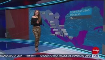 Foto: El clima con Mayte Carranco del 26 de febrero de 2019