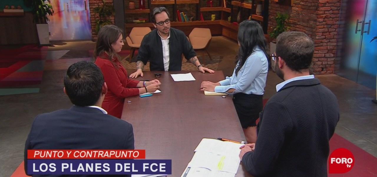 Foto: FCE Promoción Lectura Paco Ignacio Taibo 15 Febrero 2019