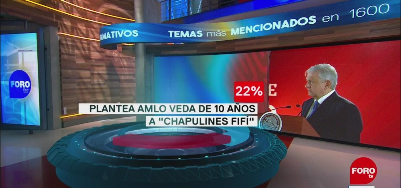 Foto: Raymundo Riva Palacio presenta el impacto en las portadas de los principales diarios