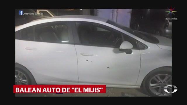 FOTO: 'El Mijis' sale ileso tras agresión, 4 febrero 2019