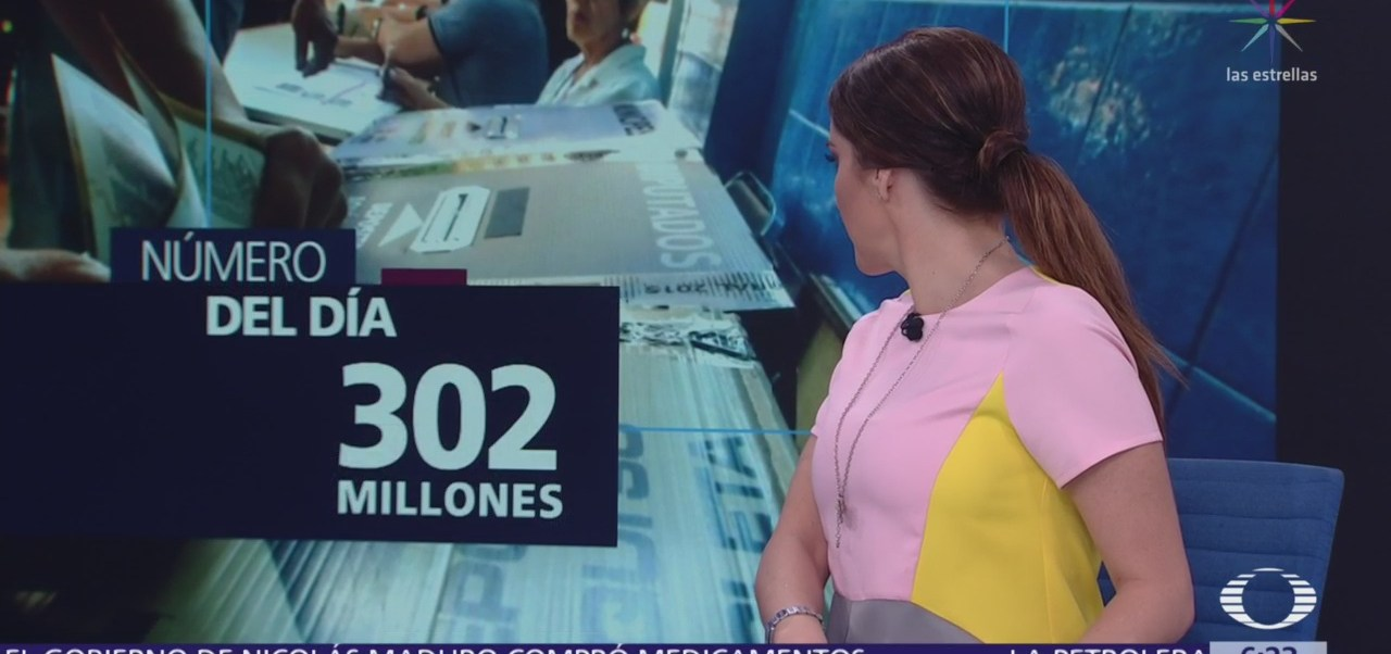 El número del día: 302 millones
