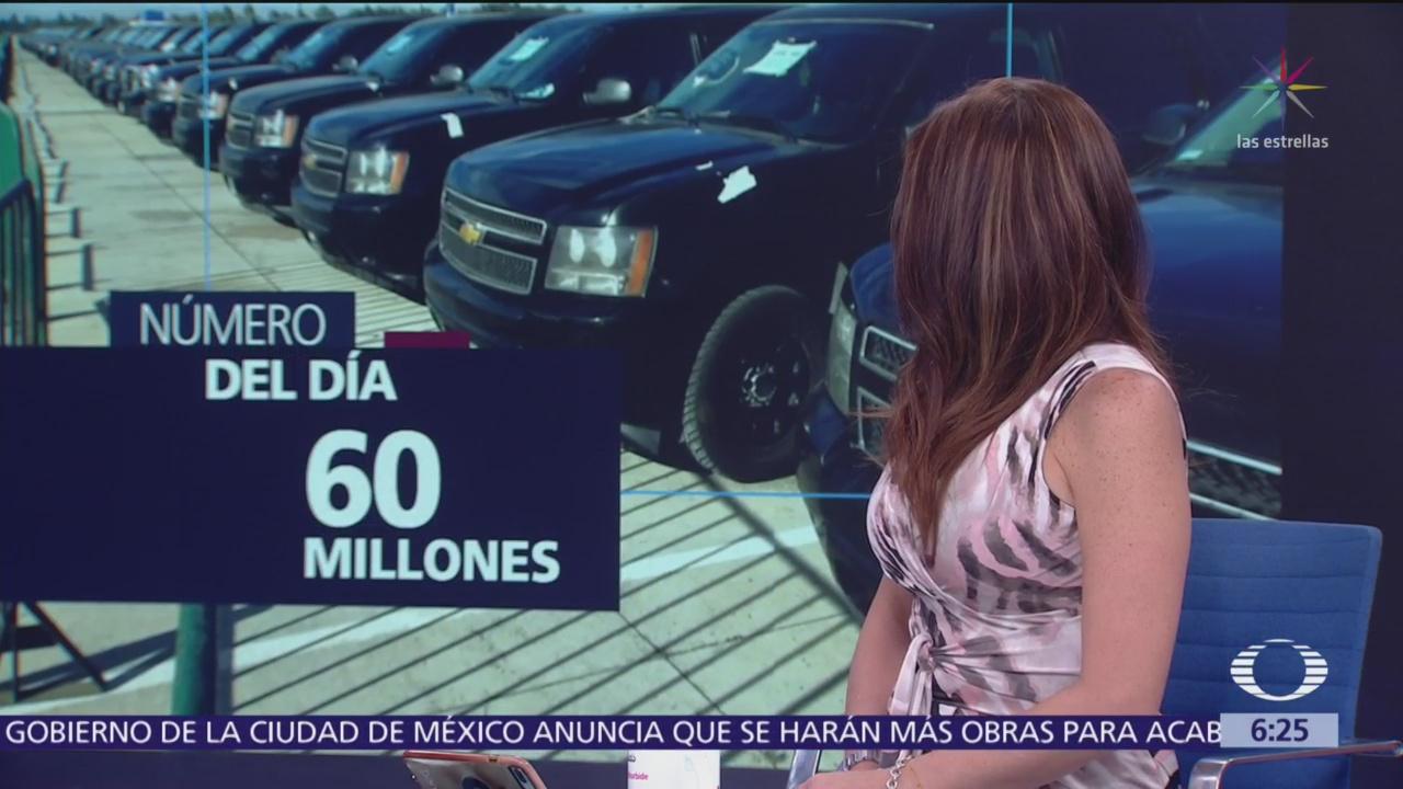 El número del día: 60 millones