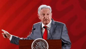 Foto: El presidente de México, Andrés Manuel López Obrador, 11 de febrero de 2019, Ciudad de México, México
