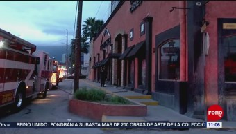 Encapuchados incendian restaurante de Monterrey