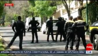 Encuentran cuerpo sin vida de un hombre en Lomas de Chapultepec, CDMX