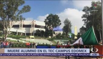 Foto: Encuentran muerto a estudiante del Tec de Monterrey en campus Edomex