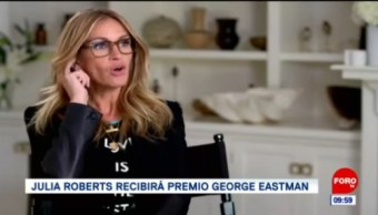 #EspectáculosenExpreso: Julia Roberts recibirá premio George Eastman