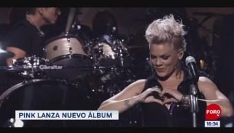 #EspectáculosenExpreso: Pink lanza nuevo álbum