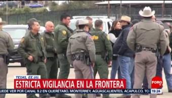Foto: Vigilancia Frontera México-Estados Unidos EEUU 12 de Febrero 2019