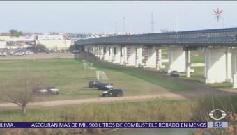 EU refuerza vigilancia en cruce de Eagle Pass, Texas