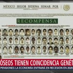 Foto: Evidencia de los 43 de Ayotzinapa en restos óseos
