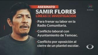 Foto: Morelos Investiga Activismo Causa Homicidio Samir 28 de Febrero 2019