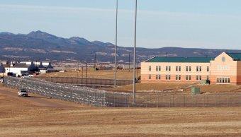 """Foto: Instalación de la prisión """"supermax"""" en Florence, Colorado, EEUU, del 21 de febrero de 2007"""
