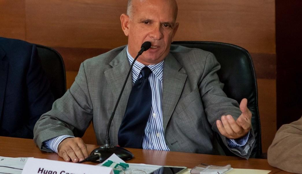 Foto: Hugo Carvajal, exjefe de contrainteligencia militar de Venezuela, durante una reunión de la comisión de Contraloría de la Asamblea Nacional en Caracas, del 27 de enero de 2016