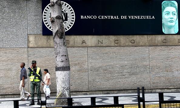 Foto: Sede del Banco Central de Venezuela en la ciudad de Caracas, del 18 de febrero de 2019