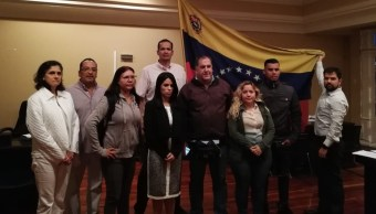 Foto: Diplomáticos venezolanos toma la embajada de su país en Costa Rica, el 20 de febrero de 2019