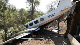 Foto: Una avioneta se estrella en el departamento de Chiquimula, Guatemala, el 18 de febrero de 2019