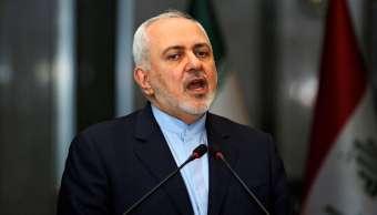 Foto: El ministro de Relaciones Exteriores de Irán, Mohammad Javad Zarif, habla durante una conferencia de prensa en Bagdad, Irak, el 13 de enero de 2019