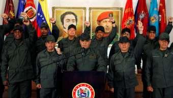 Foto: El ministro de Defensa de Venezuela, Vladimir Padrino López, asiste a una conferencia de prensa en Caracas, el 19 de febrero de 2019