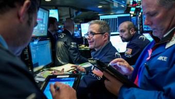 Foto: Sesión en la Bolsa de Nueva York del 4 de enero de 2019