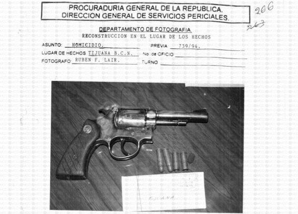 Las fotos desclasificadas del caso Colosio