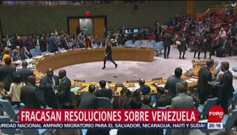 Foto: Fracasa Resolución EEUU Venezuela ONU 28 de Febrero 2019