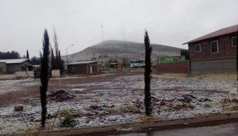 Foto: Frente frío 39 provoca caída de nieve en Chihuahua 19 febrero 2019
