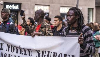 Imagen: En noviembre pasado se realizó una manifestación antirracista en Barcelona, España, el 9 de febrero de 2019