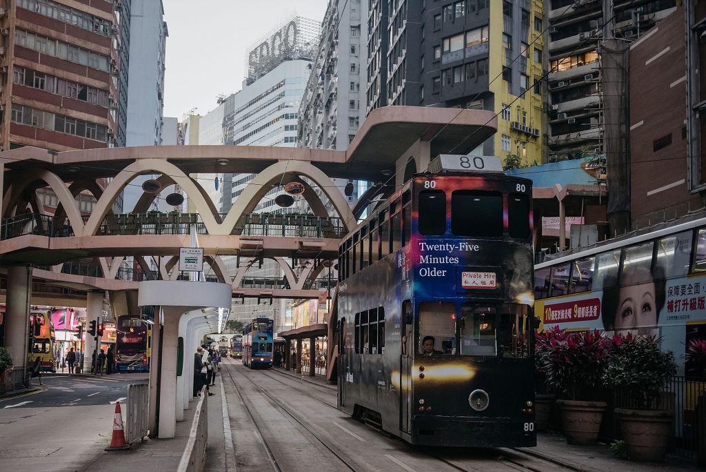 foto Hong Kong ciudad 20 marzo 2017