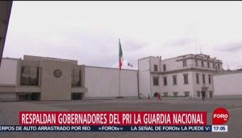 Foto: Gobernadores del PRI respaldan creación de la Guardia Nacional