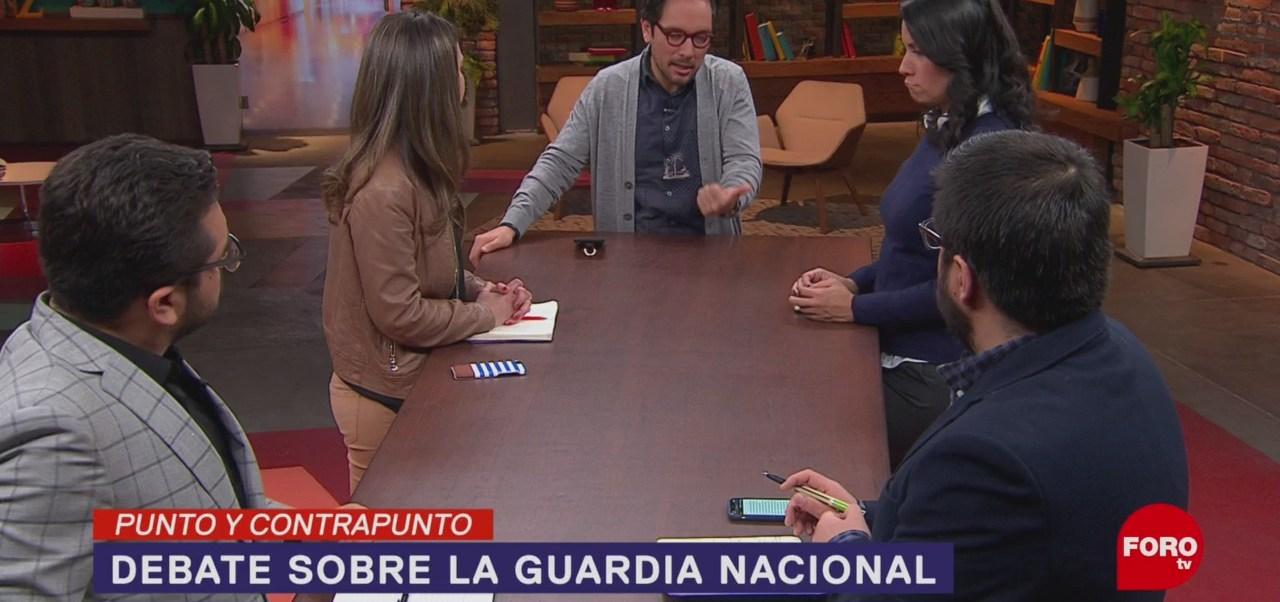 Foto: Guardia Nacional Discusión Senado 11 Febrero 2019