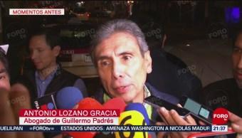 FOTO: Guillermo Padrés, Preso Por Motivos Políticos, Antonio Lozano Gracia, Abogado Del Exgobernador De Sonora, Guillermo Padrés, 2 febrero 2019