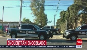 Foto: Hallan cuerpos de hombres encobijados en Jalisco y Guerrero