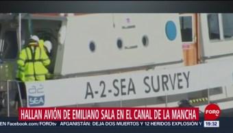 FOTO: Hallan restos del avión del futbolista argentino Emiliano Sala, 3 febrero 2019