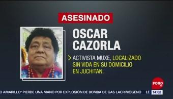 FOTO: Hallan sin vida a activista muxe en Oaxaca, 10 febrero 2019