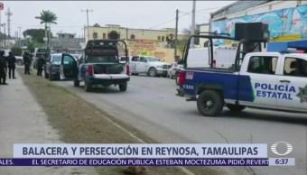 Hombres armados atacan a tiros a policías en Reynosa, Tamaulipas
