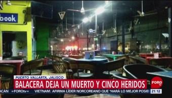 Foto: Balacera Bar Puerto Vallarta 27 de Febrero 2019