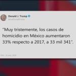 Foto: Homicidios En México Trump Paparrucha Día 01 Febrero 2019