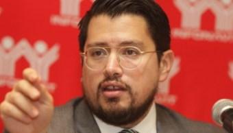Foto: El director del Instituto del Fondo Nacional de la Vivienda para los Trabajadores, Carlos Martínez Velázquez, Ciudad de México, México, febrero 26 de 2019 (Notimex)
