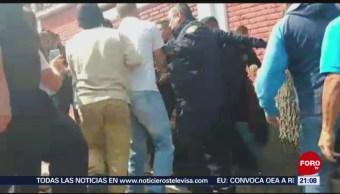 FOTO: Intentan linchar a presuntos secuestradores en Tlalpan, 13 FEBRERO 2019