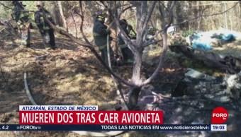 FOTO: Investigan caída de avioneta en Atizapán de Zaragoza, Edomex, 10 febrero 2019