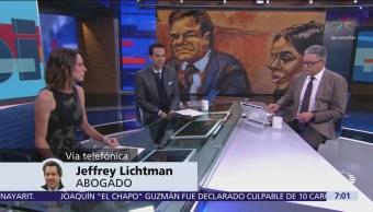 """Foto: Jeffrey Litchman, abogado de """"El Chapo"""", habla en Despierta"""