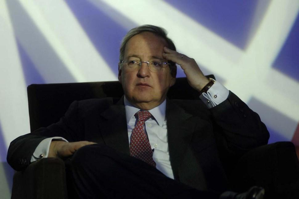 Jesús Reyes Heroles González Garza fue de los funcionarios expriistas que defendió el proyecto de la reforma energética, esbozada por el gobierno de Felipe Calderón (Proceso)