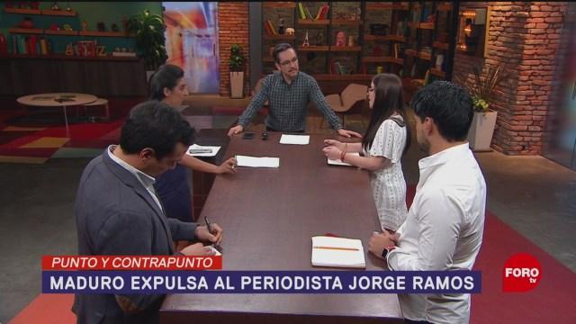 Foto: Jorge Ramos Venezuela Maduro Expulsa 20 de Febrero 2019