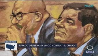 FOTO: Jurado delibera en juicio contra 'El Chapo', 4 febrero 2019