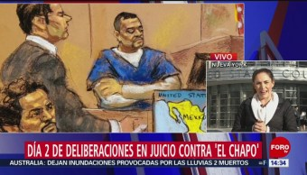 Foto: Jurado en juicio de El Chapo pide revisar testimonios
